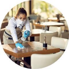 czyszczenie stolika